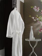 Халат вафельный белый для отеля