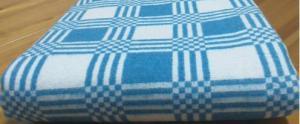 Одеяло байковое 100/140 (Хлопок 100%)