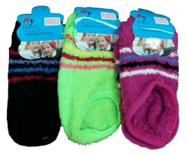 Носки-следки детские плюш