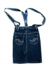 Юбка-сарафан джинсовая 5702/03 р.122