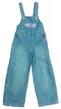 Комбинезон джинсовый для девочек 1805 р.104