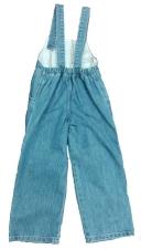 Комбинезон джинсовый для девочек 1805 р.110