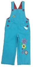 Комбинезон джинсовый для девочек 1807 р.110