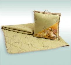 Одеяло Верблюжья Шерсть облегченное 110/140